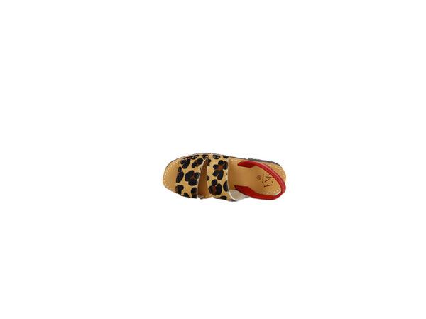 minorchina ska leopardata rossa