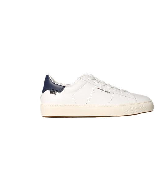 Woolrich bianca e blue WFF01070MR.UWF005.W4000
