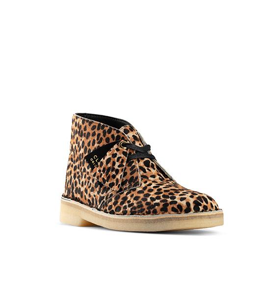 Clarks leopard